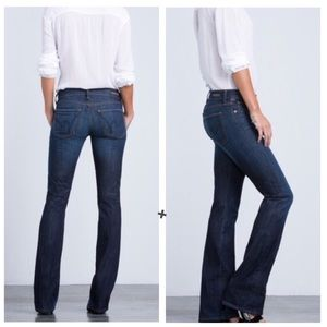 Citizens Of Humanity Kelly 90s Dark Bootcut Jeans
